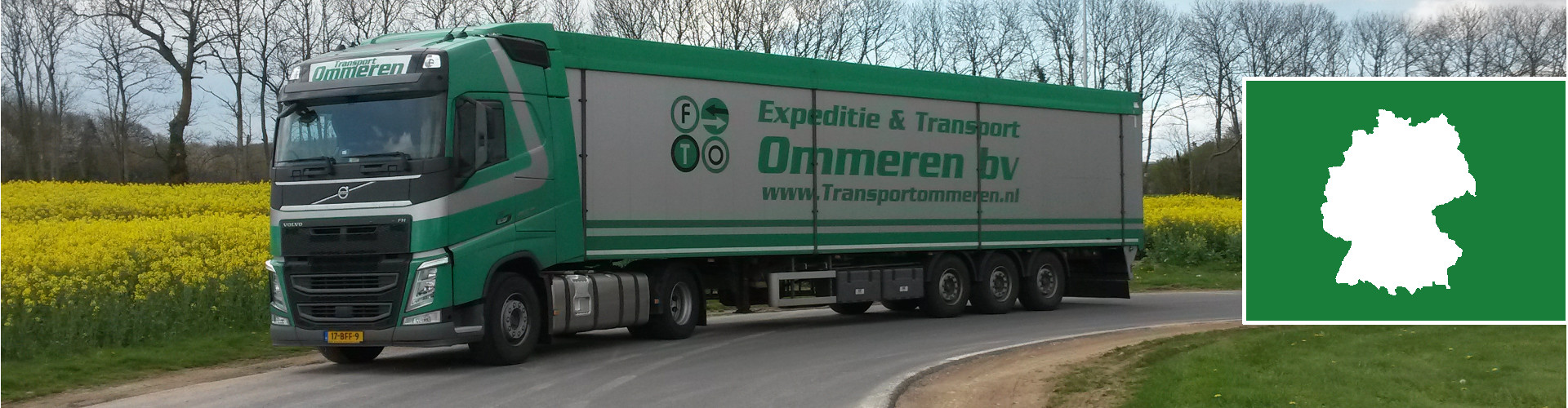 Walkingfloor Transport Duitsland - Transport Ommeren